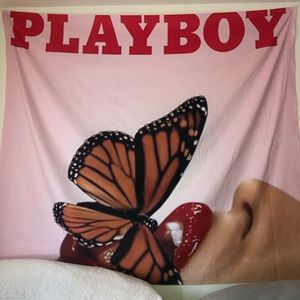 Custom Playboy tapestry